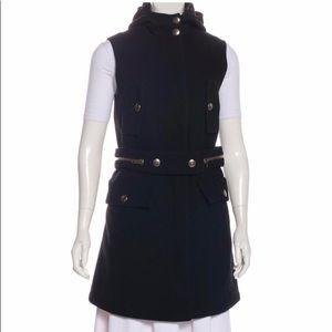 Miu Miu wool vest Coat with belt